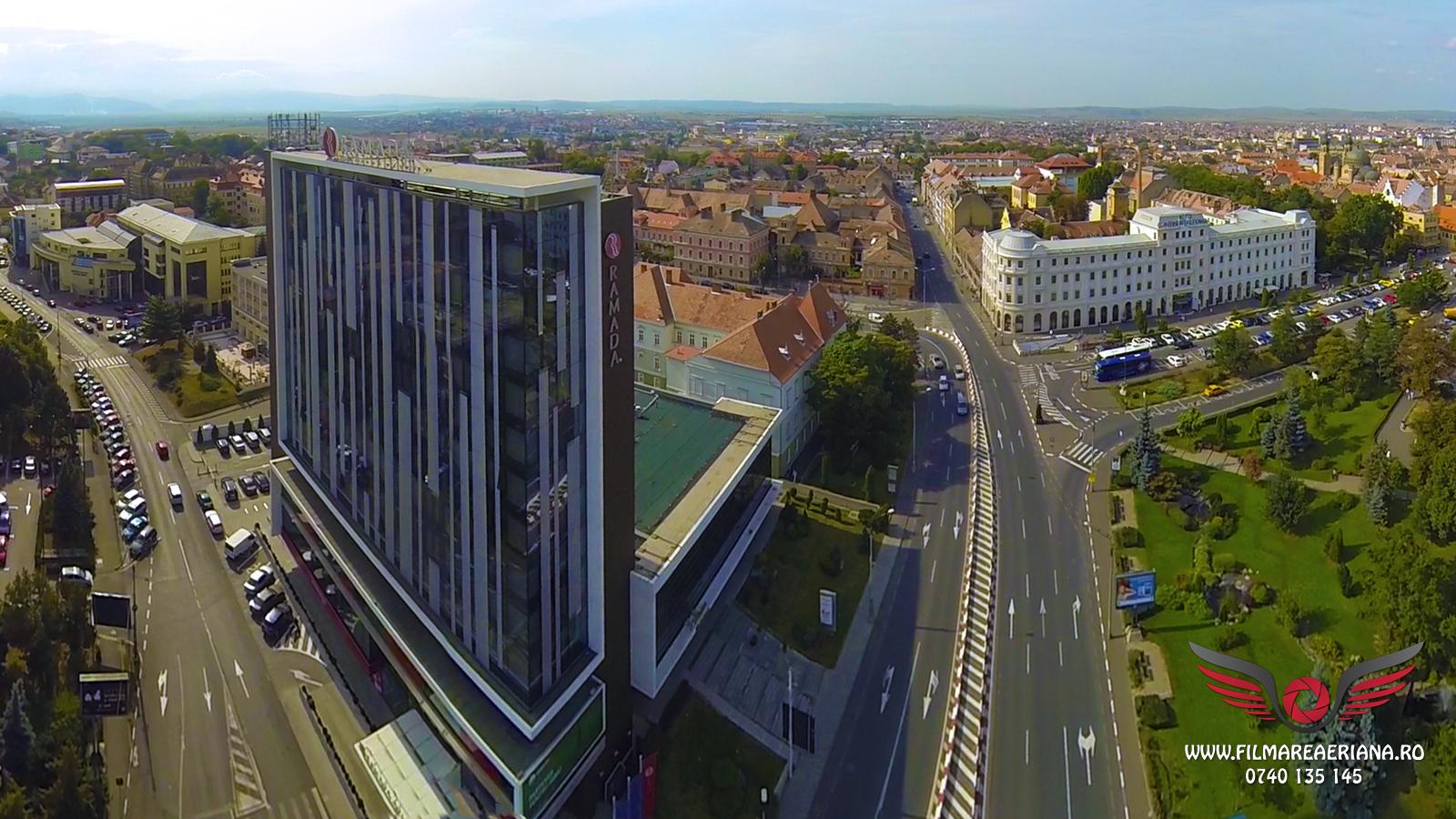Fotografii aeriene panoramice Sibiu