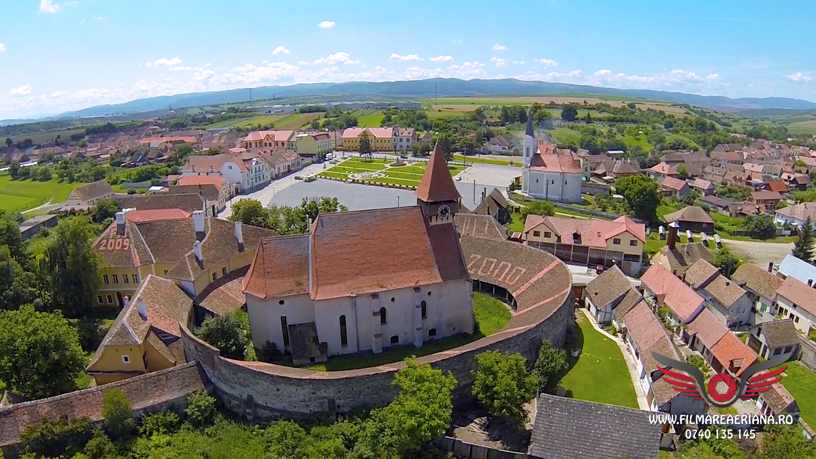 Cetati si biserici istorice judetul Sibiu