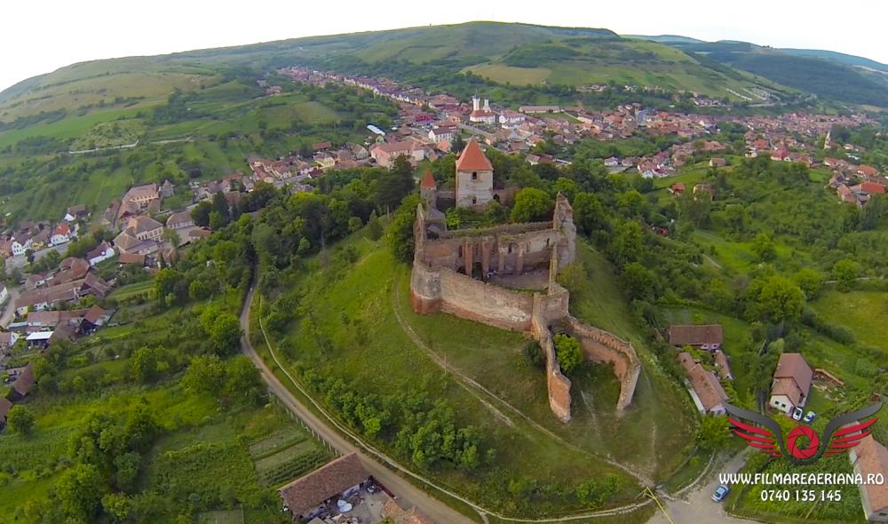 cetatea-fortificata-slimnic-sibiu-aerial-02