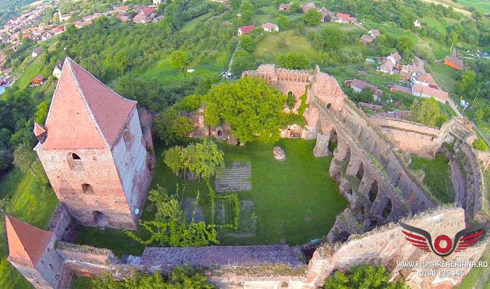 cetatea-fortificata-slimnic-sibiu-aerial-04