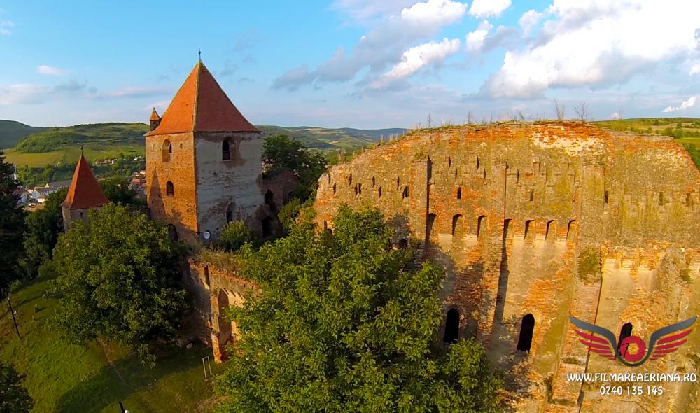 cetatea-fortificata-slimnic-sibiu-aerial-07