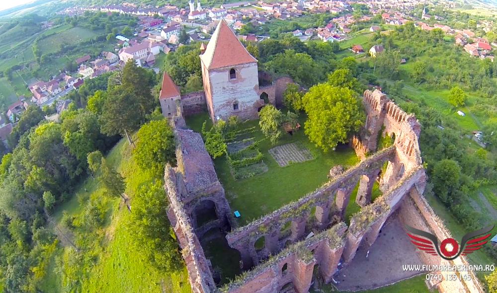cetatea-fortificata-slimnic-sibiu-aerial-10